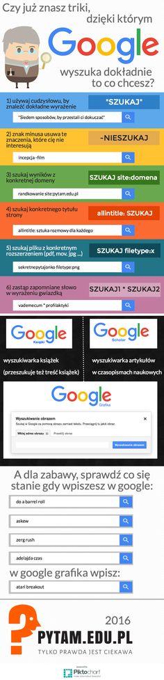 Jak dokładniej wyszukiwać w google?