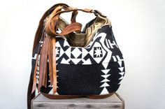 New///Agatha in Tribal Oregon Wool with Brown by arebycdesign, $198.00