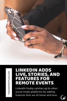 LinkedIn Adds Live, Stories, and Features for Remote Events — The Content Plug Platforms, Remote, Texas, Social Media, Events, Ads, Social Networks, Texas Travel, Social Media Tips