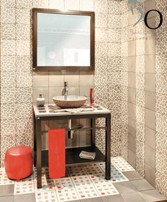Best Carreaux De Ciment Images On Pinterest Washroom White - Carrelage b orient