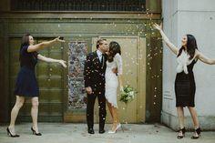 city hall wedding by samm blake