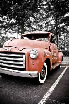 Throw back Thursday: Old truck is a piece of art! #outdoors #trucks