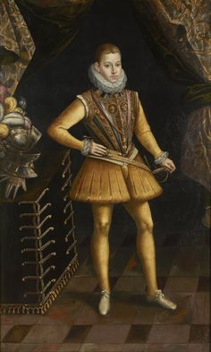 Antonio de Succa (1567–1620) Портрет Филипа III