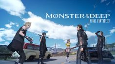 The FINAL FANTASY XV Universe casts its line into the world of VR today in MONSTER OF THE DEEP: FINAL FANTASY XV, a brand-new VR experience for PS VR.