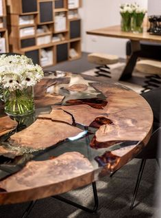 The Earth Table isn't quite as old as creation, despite what its name might suggest, but the wood used to make it is however a staggering 50,000 years old. It's a rare type of wood called millenary Kauri, and it's only found on New Zealand's North Island.