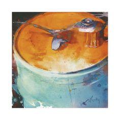 Ovale Orange by artist Marc Folly