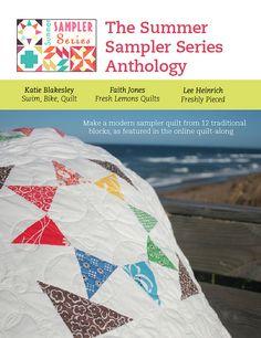 Summer Sampler Series Anthology by freshlypieced, via Flickr