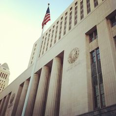 The U.S. Courthouse, built between 1937 and 1940 as the U.S. Post Office and Court House, was the third federal building constructed in Los Angeles.  The U.S. Courthouse has been the venue for a number of notable court cases, beginning in the 1940s with paternity cases against Clark Gable and Charlie Chaplin, and a breach of contract suit filed by Bette Davis against Warner Brothers. The House Un-American Activities Committee met in the building in 1947 to gather information on Hollywood…