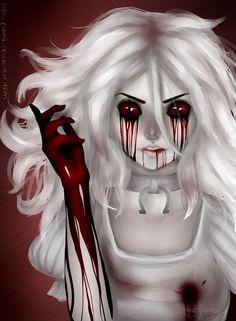 Shoutout to bloody Nightmare Sprites, Creepy Art, Scary, Dibujos Dark, Halloween Makeup Witch, Alice Liddell, Alice Madness Returns, Adventures In Wonderland, Monster Girl