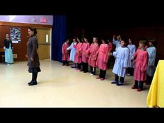 """Fantastic video showing a Grade 6 Waldorf class doing their morning """"wake-up"""" excercise"""