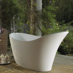 This Victoria + Albert Amalfi luxury modern freestanding bath from will create a statement in any bathroom.  We have a range of Freestanding Bath Taps and Wall Mounted Bath Taps to compliment...