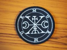 Demon's sigils patches | Depressive Illusions Records Rune Symbols, Runes, Magick, Illusions, Patches, Witchcraft