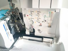 La surjeteuse Lidl Element 1450 ol sur le banc d'essai | Nom d'une couture ! Serger Stitches, Bmw, Serger Sewing, Sewing Collars, Sewing Tips, Sewing Lessons, Tutorial Sewing, Sewing Machine Projects