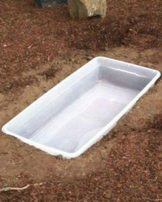 A blogger buries a plastic container in her backyard. $30 later? This is incredible!