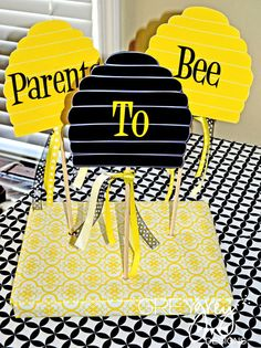 Parents To BEE shower by @Brittany Schwaigert ~GreyGrey Designs