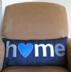 Home is where the heart is. Heart Projects, Where The Heart Is, Take That, Hearts, My Favorite Things, Day, Handmade, Hand Made