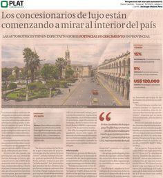 Inchcape Motors: Especial sobre mercado automotor de lujo en el diario Gestión de Perú (30/04/15)