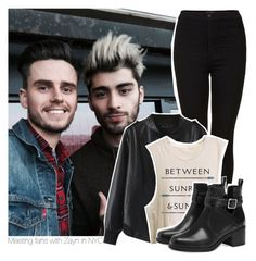 """""""Meeting fans with Zayn in NYC"""" by stylistdirectioner ❤ liked on Polyvore featuring Topshop, Chicnova Fashion and Pull&Bear"""