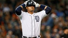 Miggy Reacts after he strike outs 9/21/14