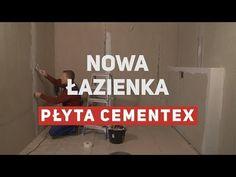 Jak wybudowałem nową łazienkę z płyt cementowych - YouTube Mario, Youtube, Youtubers, Youtube Movies