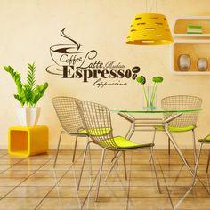 Decoretto - Wandtattoo - Coffee Espresso