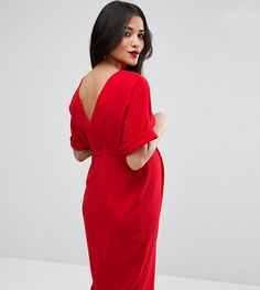 Get this Asos Maternity's jersey dress now! Click for more details. Worldwide shipping. ASOS Maternity Smart Dress - Red: Maternity dress by ASOS Maternity, Lightly-textured woven fabric, Boat neck, Turn-up cuffs, Hook and eye closure, Zip-back fastening, Regular fit - true to size, Designed to fit through all stages of pregnancy, Machine wash, 97% Polyester, 3% Elastane, Our model wears a UK 8/EU 36/US 4 and is 173cm/5'8 tall. Maternity dressing gets bumped up to next-level status with the…
