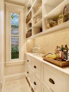 Butler's Pantry - LeeAnn Baker Interiors