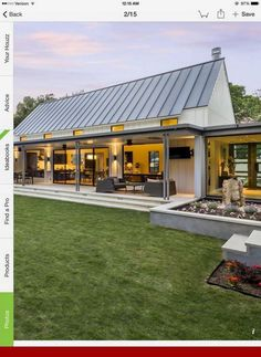 Will Thank Us - 10 Tips About Metal Buildings You Need To Know.You Will Thank Us - 10 Tips About Metal Buildings You Need To Know. Extraordinary modern farmhouse in rural Texas by Olsen Studios House Broughton by LevEco Architects Metal Barn Homes, Metal Building Homes, Pole Barn Homes, Building A House, Metal Roof, Pole Barns, Building Design, Building Ideas, Metal Building Home Plans