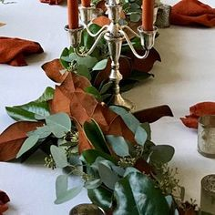 Italian Ruscus and Seeded Eucalyptus Garland | Etsy