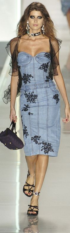 Christian Dior - denim style ~ CE♥