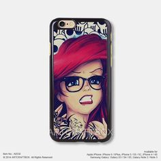 Disney Princess Punk Little Mermaid iPhone 6 6Plus 5s 5C case 530