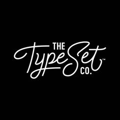 The Type Set Co. Logo Design// Branding by Braizen// TTSC #magneticletterboard #letterboards
