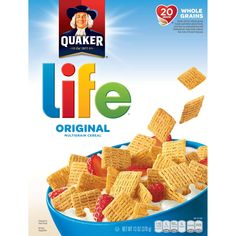 Quaker Life Original MultiGrain Cereal - Pack of Three Boxes World Recipes, Gourmet Recipes, Healthy Recipes, Smoked Eggs, Healthy Cereal, Thing 1, Breakfast Cereal, Breakfast Ideas, Multigrain