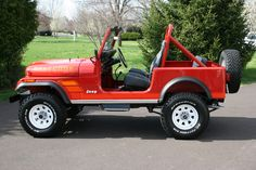 White Wagon Wheels - Pics Anyone? Jeep Cj7, Cj Jeep, Jeep Wrangler Yj, Jeep Rubicon, Jeep Truck, Auto Jeep, Jeep Garage, Jeep Photos, Vintage Jeep