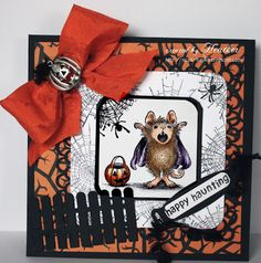 "House-Mouse & Friends Monday Challenge: ""Hey Pumpkin"", Challenge HMFMC155"