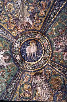 The Lamb of God--mosaic