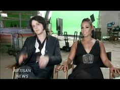 Alicia Keys and Jack White - On Set Interview