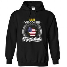 Born in SALEM-WISCONSIN V01 - #shirt for teens #football shirt. BUY NOW => https://www.sunfrog.com/States/Born-in-SALEM-2DWISCONSIN-V01-Black-Hoodie.html?68278