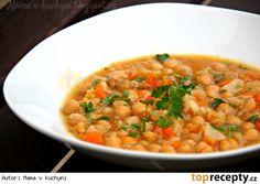 Rychlý cizrnový guláš Chana Masala, Family Meals, Risotto, Cooking, Ethnic Recipes, Food, Fitness, Bulgur, Kitchen