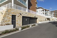 Natural stone walling made from Australian sandstone. Ideal for outdoor feature walls, retaining wall claddings. Matching corners and capping stones are available. Sandstone Cladding, Sandstone Wall, Natural Stone Wall, Natural Stones, Stone Supplier, Feature Walls, Wall Cladding, Flooring, Mansions