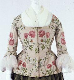 Gallery of Costume 18th Century Dress, 18th Century Costume, 18th Century Clothing, 18th Century Fashion, 19th Century, Historical Costume, Historical Clothing, 1700s Dresses, Rococo Dress