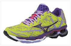 online store 7bf41 8fe9e Mizuno Women s Wave Creation 16 Running Shoe (9.5 B(M) US, Lime
