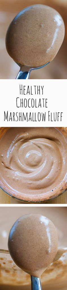 Chocolate Marshmallow Fluff, with NO corn syrup, and no unhealthy chemicals or…