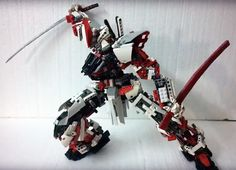 LEGO (MOC): MBF-P02 Gundam Astray Red Frame by Demon 1408     Created by Demon1408     Youtube: https://www.youtube.com/watch?v=V3Pre0peVz...
