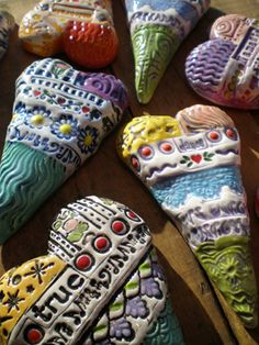 Array of Hearts by Dancing Eye Gallery, via Flickr