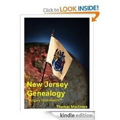Amazon.com: New Jersey Genealogy eBook: Thomas MacEntee: Books #genealogy