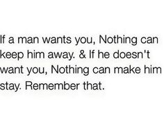 Exactly...ladies remember if he truly has your best interest at heart he would be with you! No asking to wait for him, promises he cant keep, giving weekends, late nights etc of his time. He will show it and there will be no doubting your relationship. Real relationships feel real and they feel right. Period! God will give you your own and something special that you dont have to question. #knowyourworth (sp)