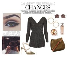 """""""Everyone looks to her. She pick up the mercedes and drive to somewhere to find love ♡"""" by diferentprincess ❤ liked on Polyvore featuring Bellezza, Oh My Love, Frederic Sage, Fendi, Chloé, Valentino and Prada"""