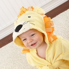 Lion Hooded Robe