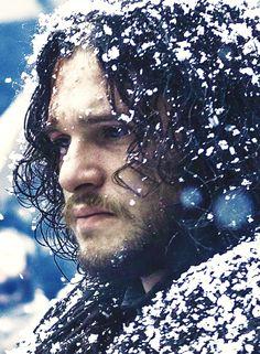 Jon Snow is hair goals.